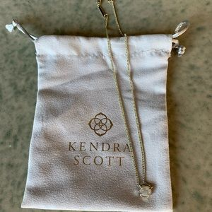 Kendra Scott Iridescent Drusy Pendant